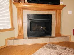 a recent before picture of a fireplace without protection