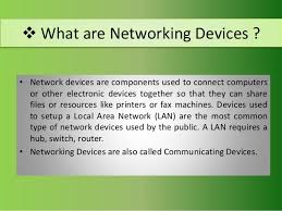 Network Devices Computer Networking Devices