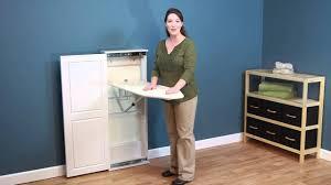 Ironing board furniture Iron Board Youtube Household Essentials Iron N Fold Cabinet Ironing Board Youtube