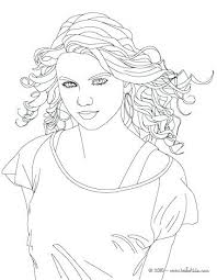 Famous People Coloring Pages Close Up Coloring Page More Famous