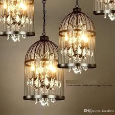 bird design chandelier do the old vintage wrought iron chandelier bird cage lamps crystal lamp living room restaurant villa drop iling light fixtures home