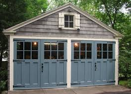 garage door for shedHinged Swing Out Carriage Doors Made By Evergreen Carriage Doors