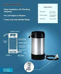 best countertop water filtration system how to install a water filter instructions cuisinart cleanwater countertop