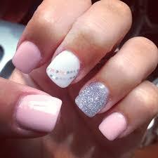Light Pink And White Nail Designs Pin By Candee Mason On Nail Art Nails Toe Nails Gel Nails