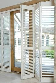 shutter blinds for patio doors contemporary wooden