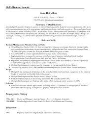 skill based resume sample sample skill based resume electrician resume examples this is