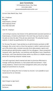Bunch Ideas Of Amazing Good Cover Letter For Administrative