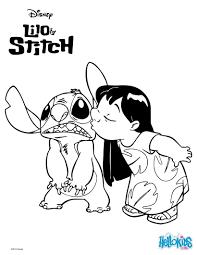 Coloriage Disney Lilo Et Stitchl