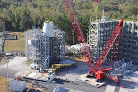 new car launches may 2014Construction Complete on First of Two New Test Stands at NASA