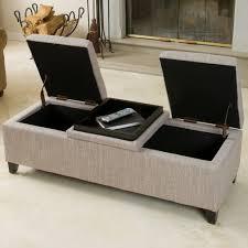 fullerton chamois fabric storage ottoman  great deal furniture canada