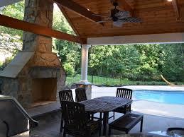 pool house kitchen. Warrenton Virginia Landscape Architect. Warrenton, VA Pool House Kitchen
