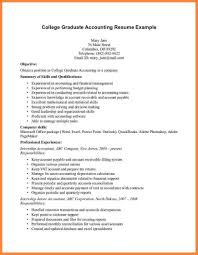 College Graduate Resume Samples Recent Graduate Resume Sample Resume For Study 45