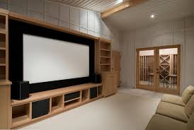 custom wall units for theater in miami