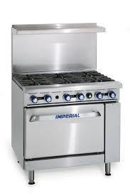Oven Gas Stove Imperial Range Ir 6 36 Restaurant Range With 6 Open Gas Burners