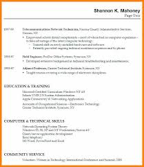 Cv Samples For Students With No Experience Resume Examples For