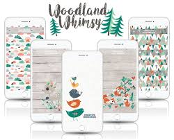 Cell Phone Backgrounds Get Enchanted With 5 Woodland Whimsy Free Cell Phone Wallpapers