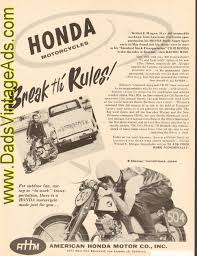 vintage honda motorcycle ads. vintage motorcycle ads articles road tests u0026 magazines u003e honda only