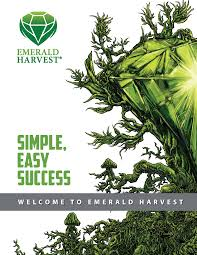 Emerald Goddess Feed Chart Product Guide Emerald Harvest