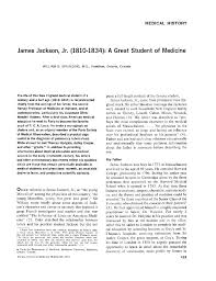 james jackson jr a great student of medicine  james jackson jr 1810 1834 a great student of medicine of internal medicine american college of physicians