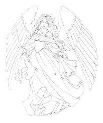 Snow Angel Coloring Page Trustbanksurinamecom