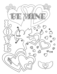 Valentine S Coloring Pages Coloring Page