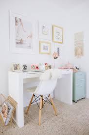 Colorful feminine office furniture Girly Feminine Pinterest Finishing Touches With Framebridge