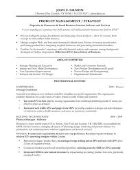Product Manager Executive Resumes L Free Executive Resume Samples