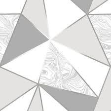 black and white wallpaper geometric pattern. Wonderful Black Zara Marble Metallic Wallpaper Soft Grey Silver ILW980108 And Black White Geometric Pattern E