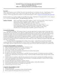 Adoloscent Counselor Sample Resume Resume For Office Work Resume