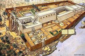 Луксорский и Карнакский храм Реконструкция Цивилизации мира  Луксорский и Карнакский храм Реконструкция