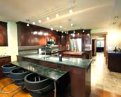 track lighting in the kitchen. Modern Track Lighting Kitchen With Glamorous Interior Design Ceiling For In The