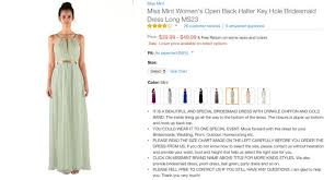 Impression Bridal Color Chart Heres What Prom Dresses From Amazon Actually Look Like