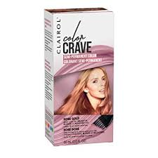 Clairol Color Crave Semi Permanent Hair Color Rose Gold 1 Count