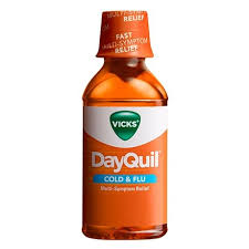 Vicks Dayquil Cold Flu Relief Liquid Vicks