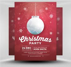 Christmas Backgrounds For Flyers Christmas Party Flyers Template Clipart Images Gallery For