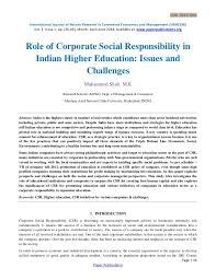 long essay on corporate social responsibility