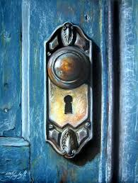 door art print featuring the painting the door by leyla munteanu