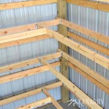 diy garden shed shelves corner for garage or pole barn storage