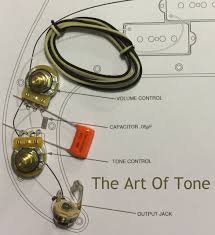 wiring upgrade kit for fender precision bass® the art of tone wiring kit fender precision bass p bass