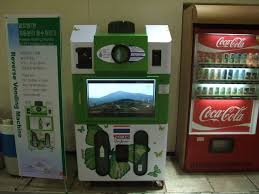 Eco Vending Machine Enchanting Reverse Vending Machine Ecocreation CoLtd