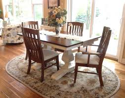 customer s white painted table with glaze amish direct furniture