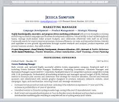Resume Template Plain Text 7 How To Make A Plain Text Resume