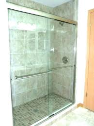 5 foot shower doors 4 foot shower base ft doors sliding precision glass 5 tray 5