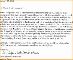 Reference Letter Personal Professional Reference Letter Format
