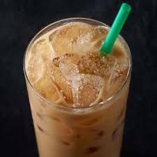 iced smoked erscotch latte