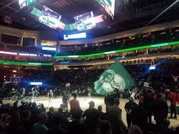 Milwaukee Bucks Seating Guide Fiserv Forum Rateyourseats Com