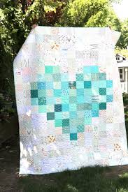 Patchwork Quilt Patterns Beauteous Pixelated Heart Patchwork Quilt Tips To Make One