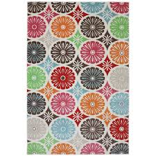 indooroutdoor bright radials multi rug 5393 x 7396 by bright colored outdoor