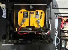 adding 2nd battery under front seat ram promaster forum here you can see all the connections the battery doctor is super easy wiring line from primary to battery doctor fused line from battery doctor to