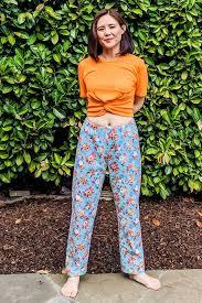 Pajama Jeans Size Chart Free Womens Pajama Pants Pattern Download Pdf Trevor